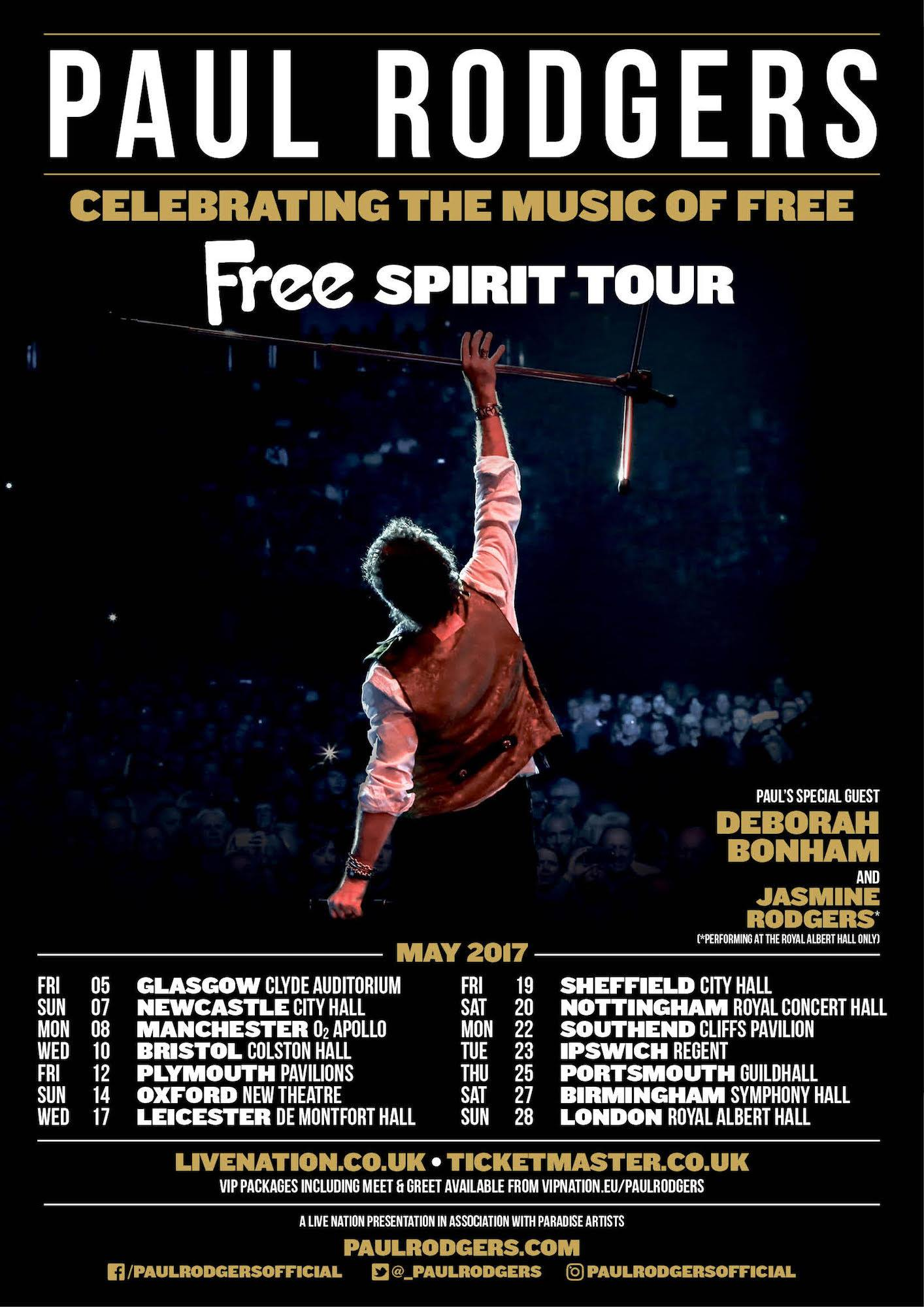 paul rodgers opens free spirit tour best classic bands