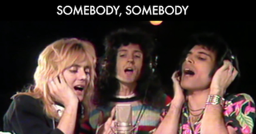 Someone to love queen cover