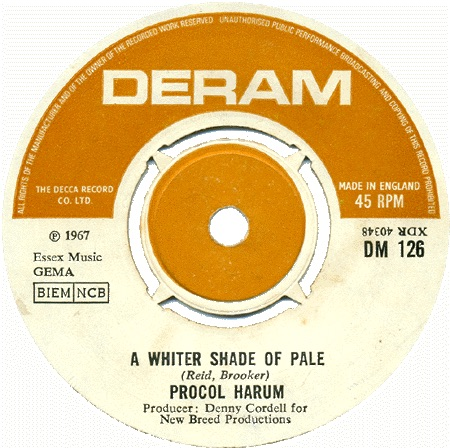 Procol Harums A Whiter Shade Of Pale Look Back Best Classic Bands