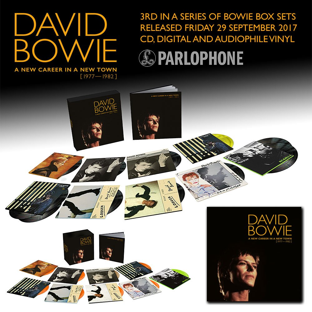 David Bowie 1977 1982 Box Set Coming Soon Best Classic Bands
