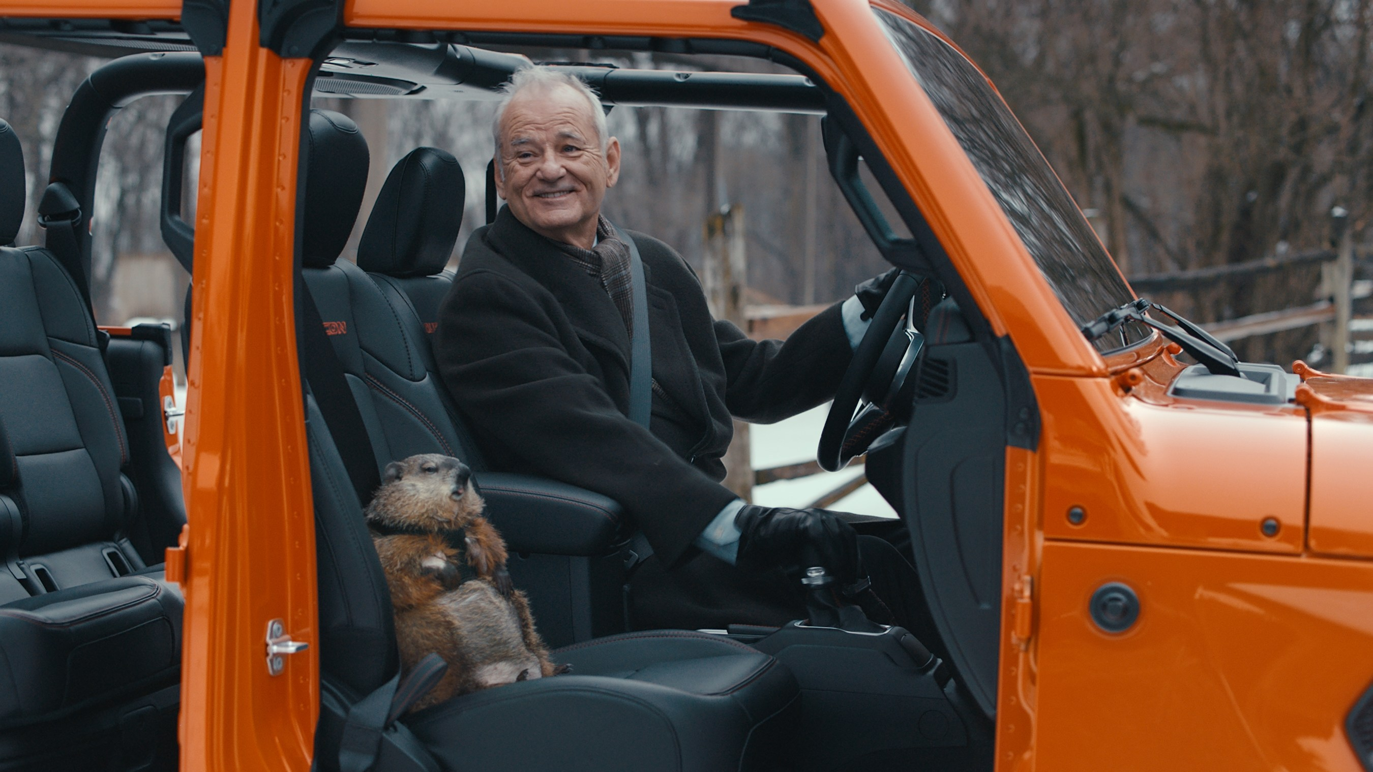 It's 'Groundhog Day' (again) in Bill Murray Super Bowl commercial for Jeep