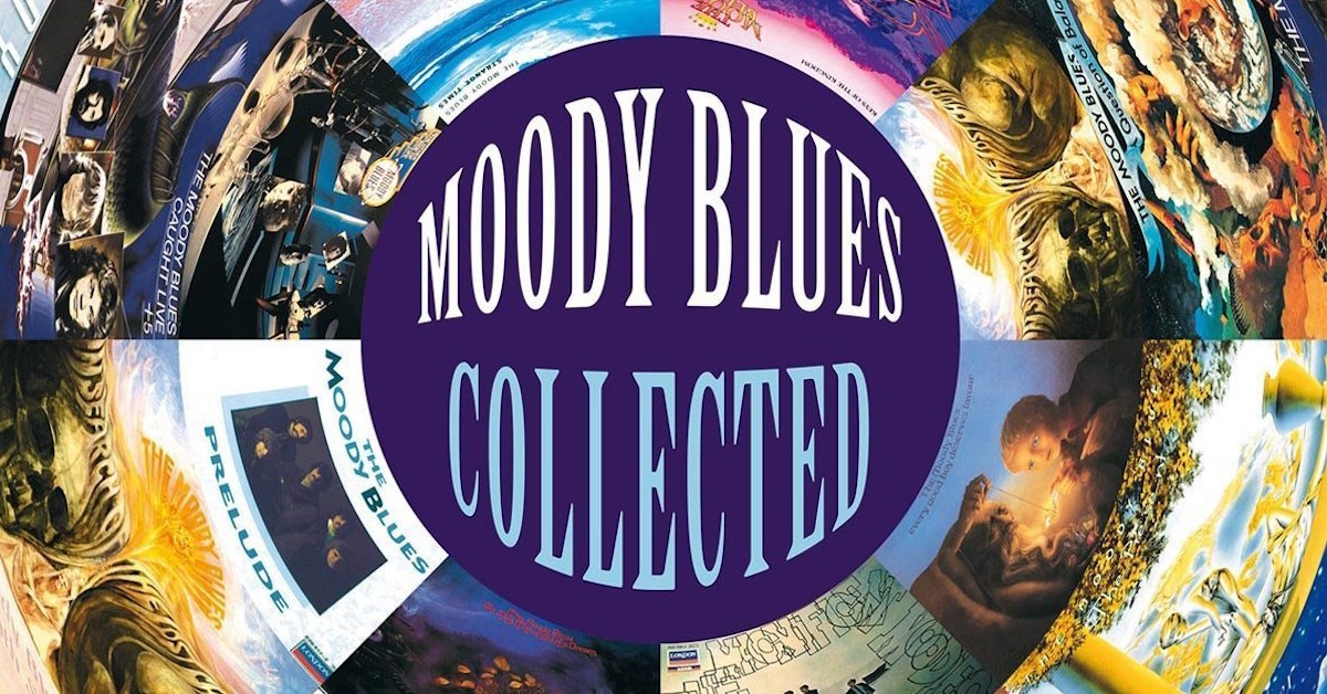 Moody Blues Collected Hits Coming To Vinyl Best