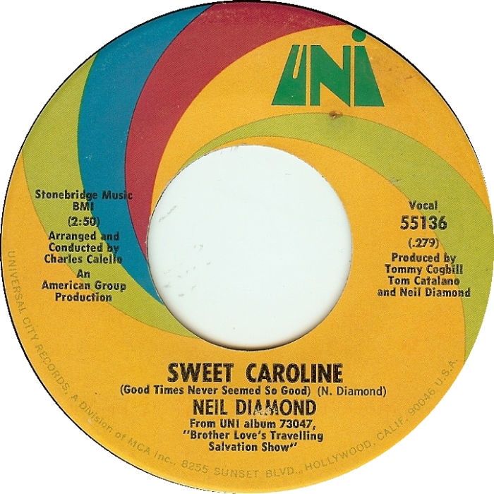 Neil Diamond Sings Updated Coronavirus Version of 'Sweet Caroline'