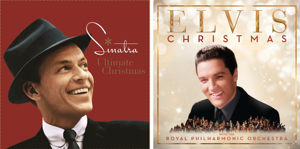 new holiday collections from two of the best singers of all time were announced today by their respective record labels frank sinatras ultimate christmas - The Sinatra Christmas Album