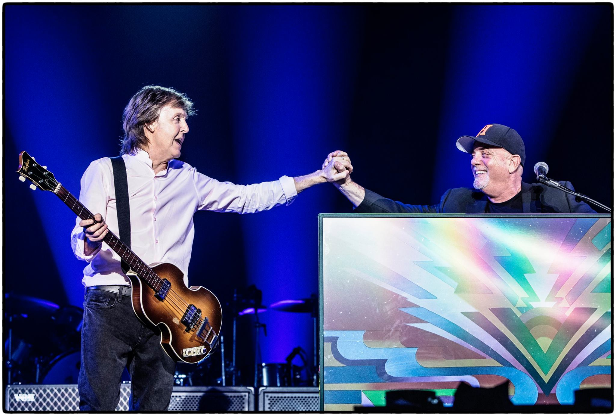 Billy Joel Joins Paul Mccartney Onstage In New York Best Classic Bands
