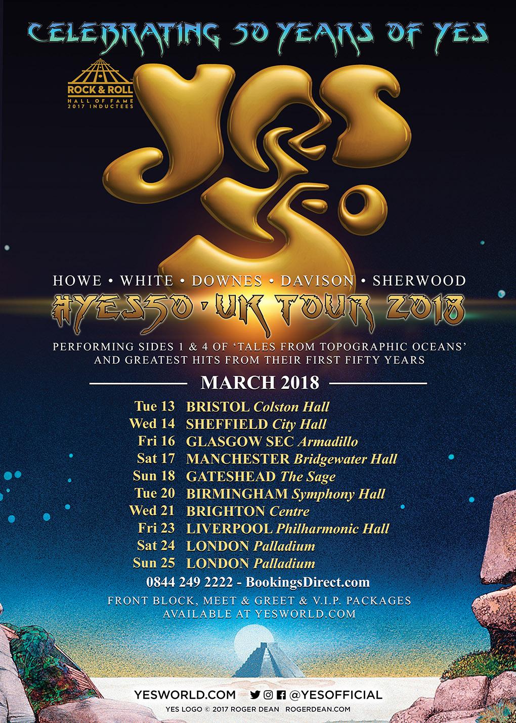 Metal Tour Dates Europe
