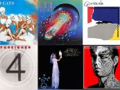 Top Albums October 1981: All  Rock