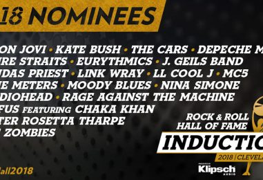 Handicapping the 2018 Rock Hall Nominees!