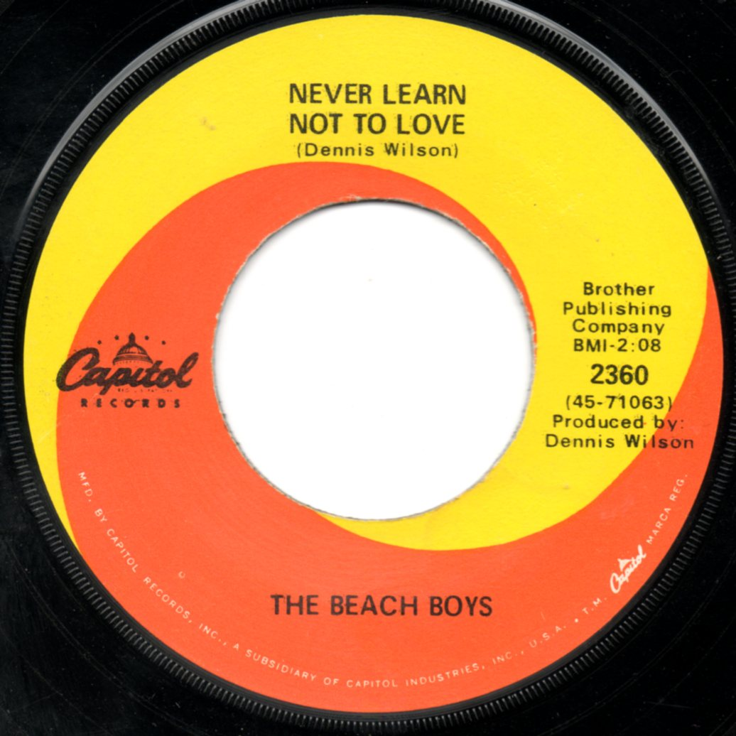 The Beach Boys - Never Learn Not To Love Lyrics | MetroLyrics