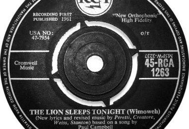 Mitch Margo, 'The Lion Sleeps Tonight' Singer, Dies