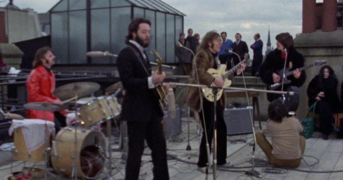 The Beatles Final Gig Up On The Roof Best Classic Bands