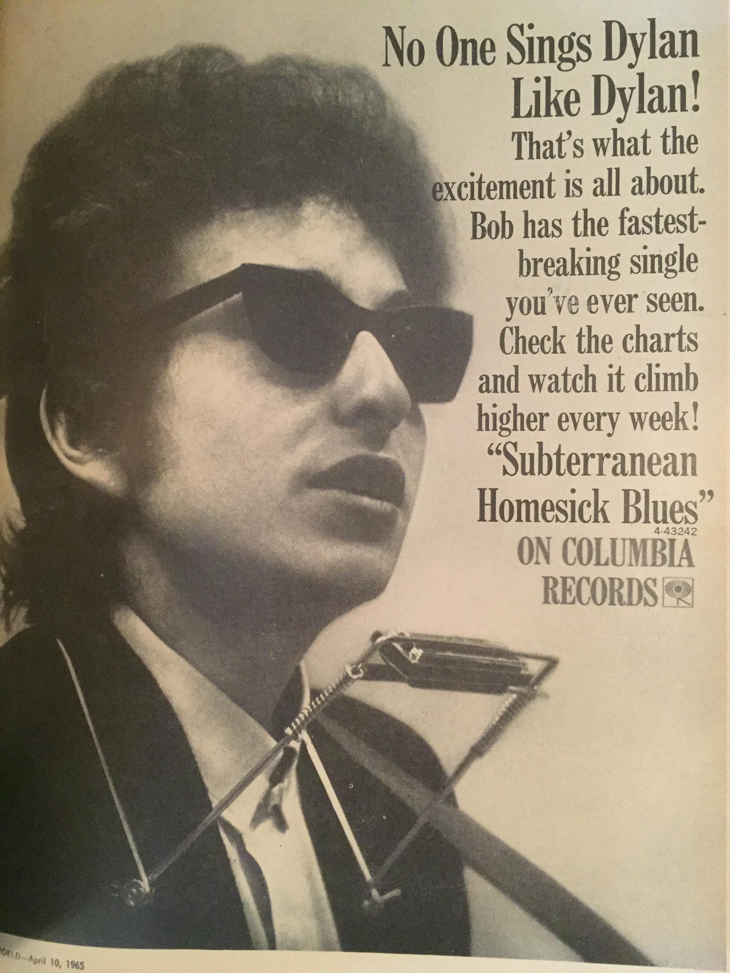 fe07ac6f57 Bob Dylan 1965  Evolving to Electric