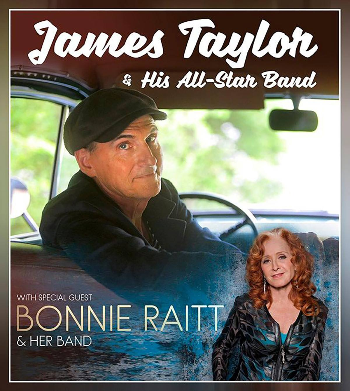 James Taylor bringing Bonnie Raitt with him to Van Andel Arena