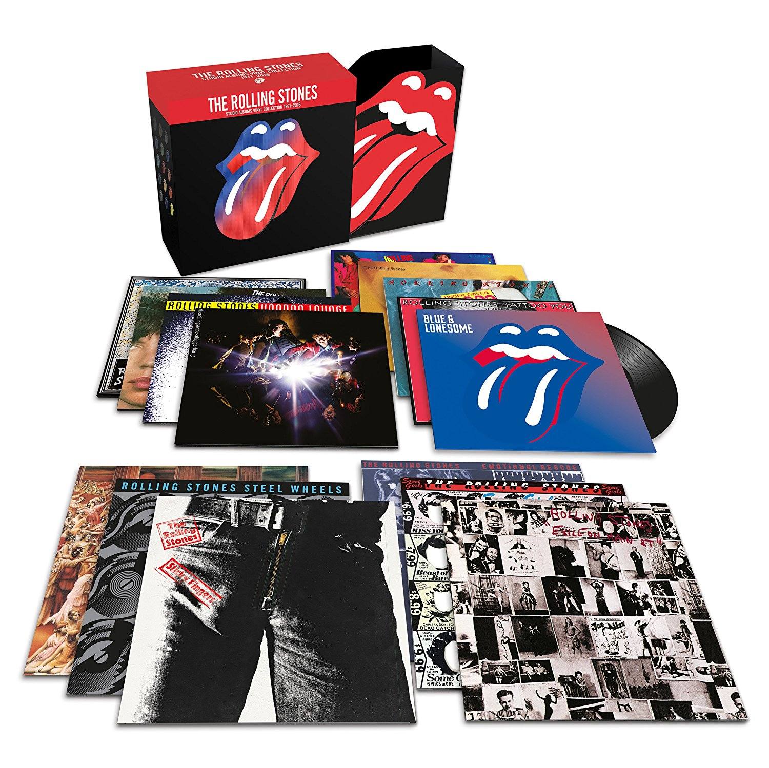 Rolling Stones Issue Studio Albums Vinyl Collection