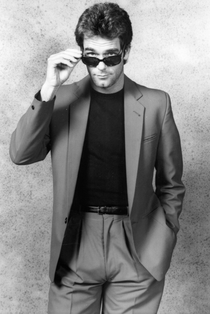 Huey Lewis in the '80s