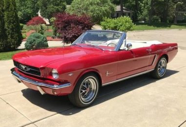 The Classic 1965 Ford Mustang Rocks