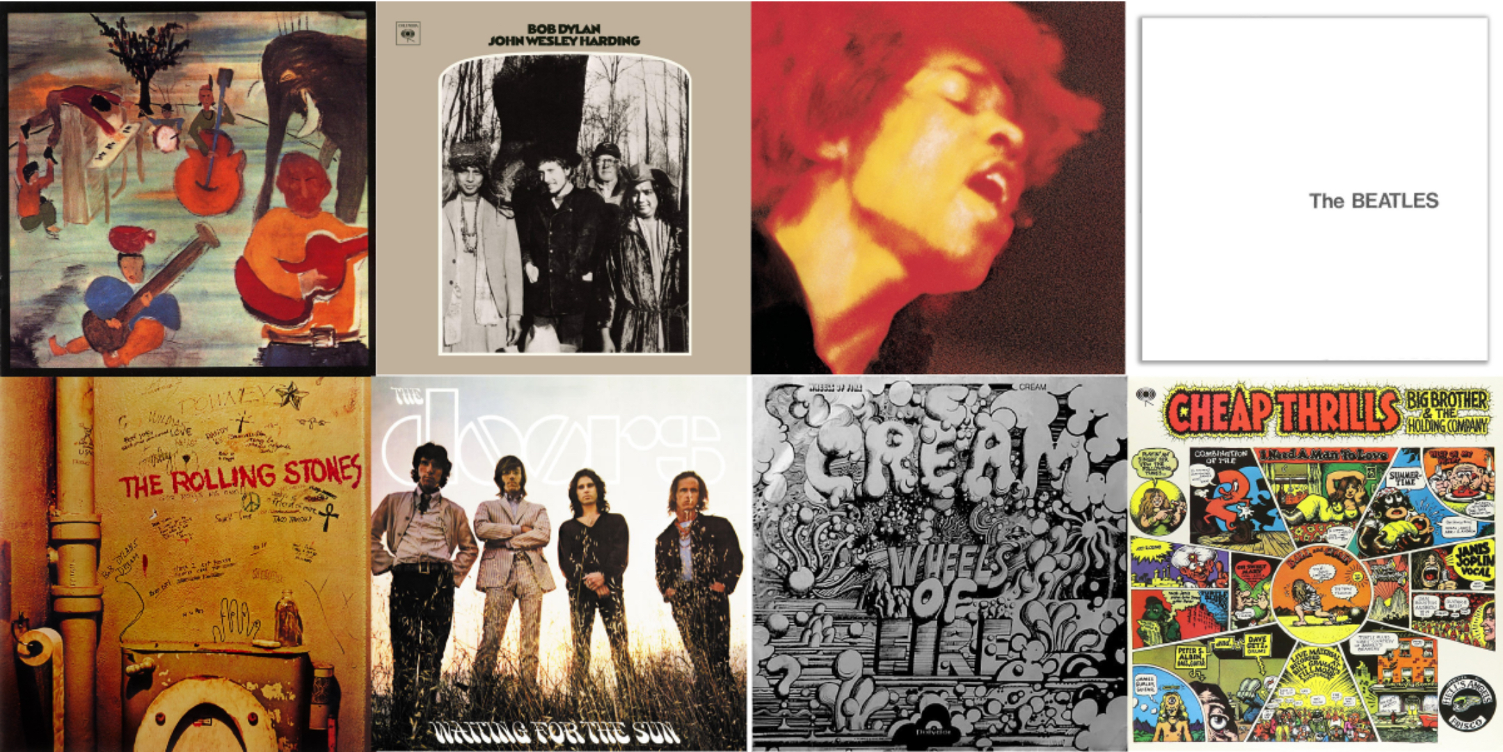 Best Rock Albums 2020.1968 The Year In 50 Classic Rock Albums Best Classic Bands