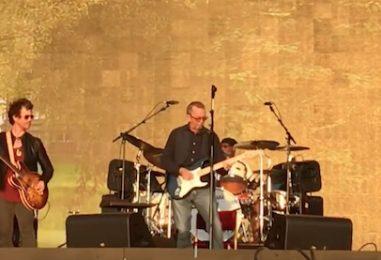 Clapton, Winwood, Santana Play London's Hyde Park