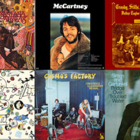 The #1 Albums of 1970: Hello and Goodbye
