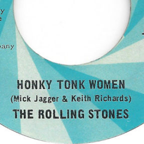 Radio Hits in October 1969: Gimme the Honky Tonk Blues