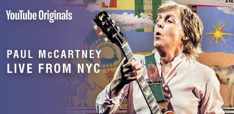 The Beatles Polska: Obejrzyj w domu koncert Paula McCartneya w Nowym Jorku