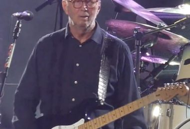 Eric Clapton Plays 2 at Madison Square Garden