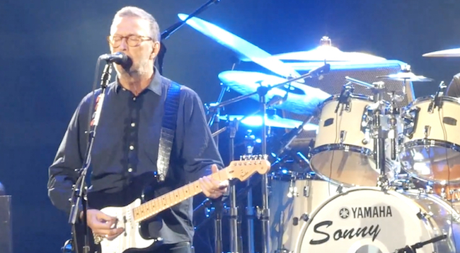 Recordings by Eric Clapton were among the thousands destroyed in the fire