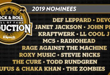 Handicapping the 2019 Rock Hall Nominees!