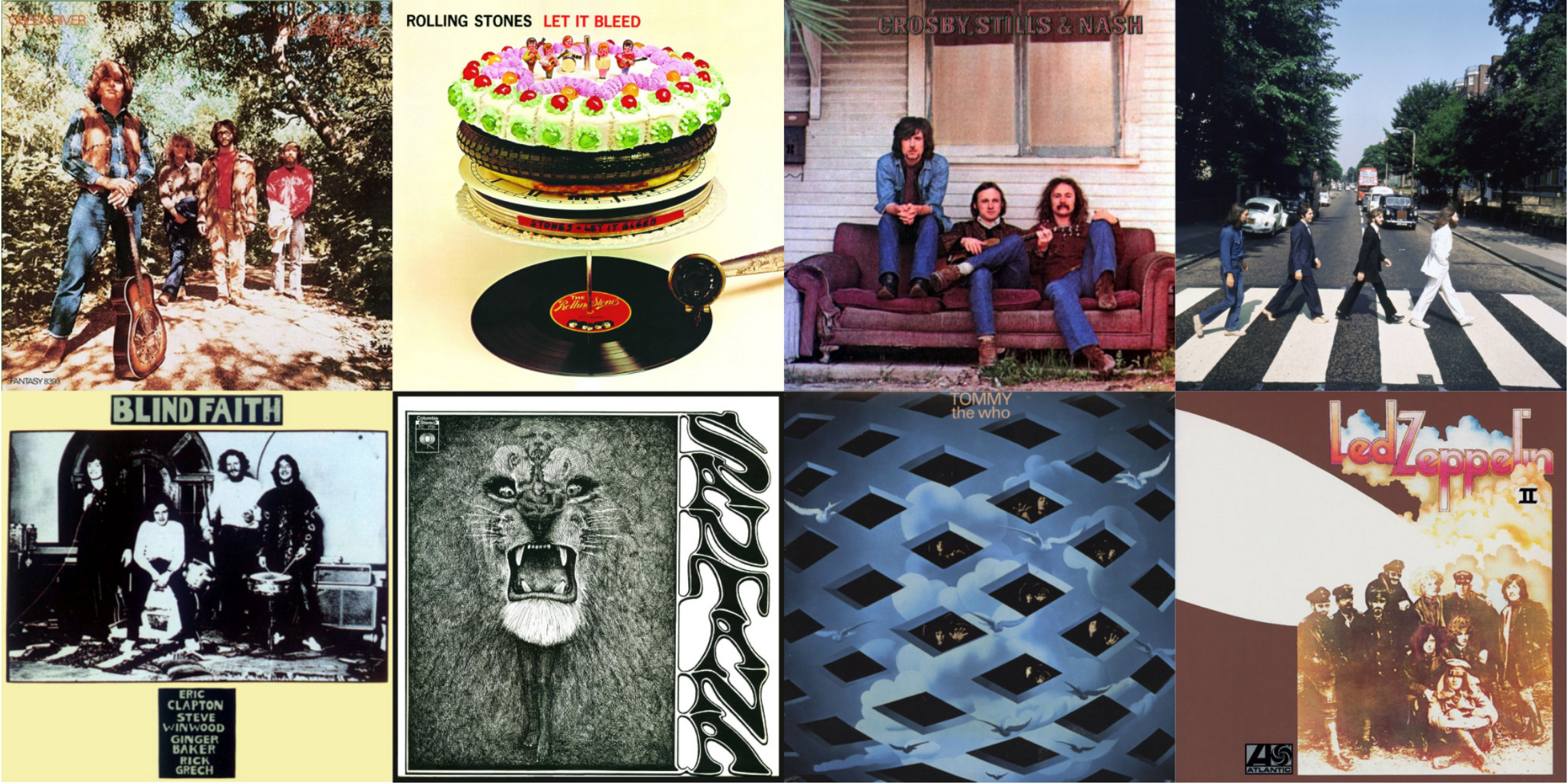 50 Years Ago: 1969 in Rock Music | Best Classic Bands
