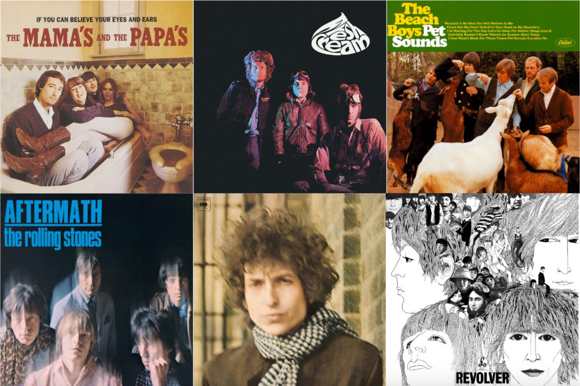 1966: The Year in 40 Classic Rock Albums | Best Classic Bands