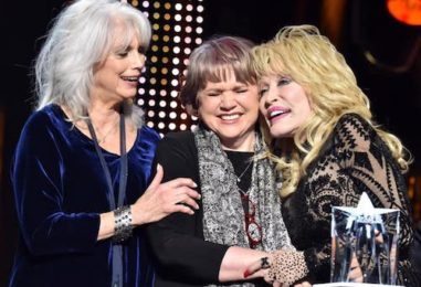 Dolly Parton, Ronstadt, Harris Reunite at 2019 MusiCares