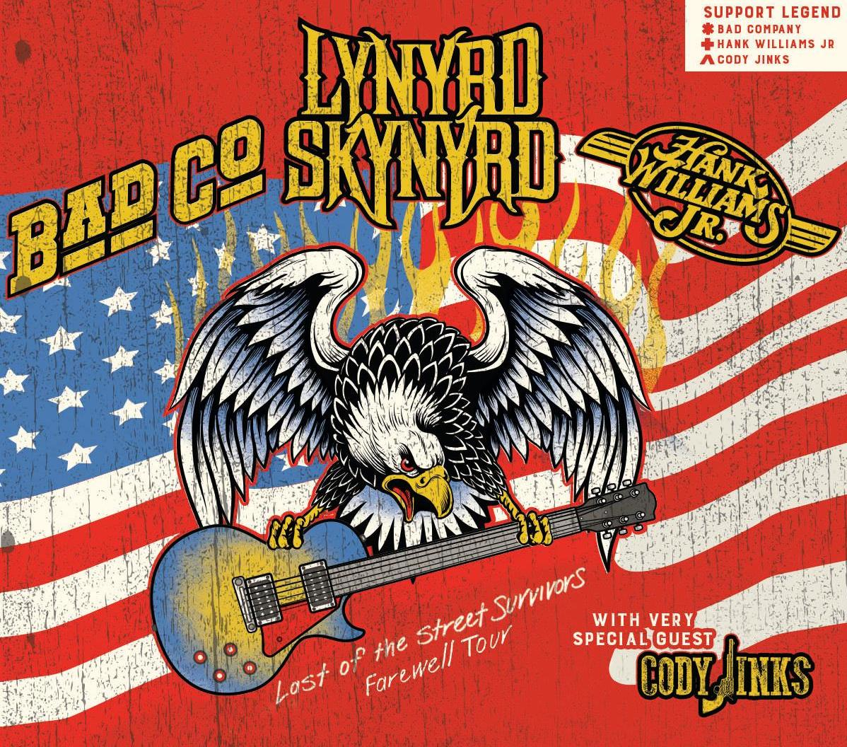 Hank Williams Jr Tour 2020 Lynyrd Skynyrd Set 2019 Dates For Farewell Tour | Best Classic Bands