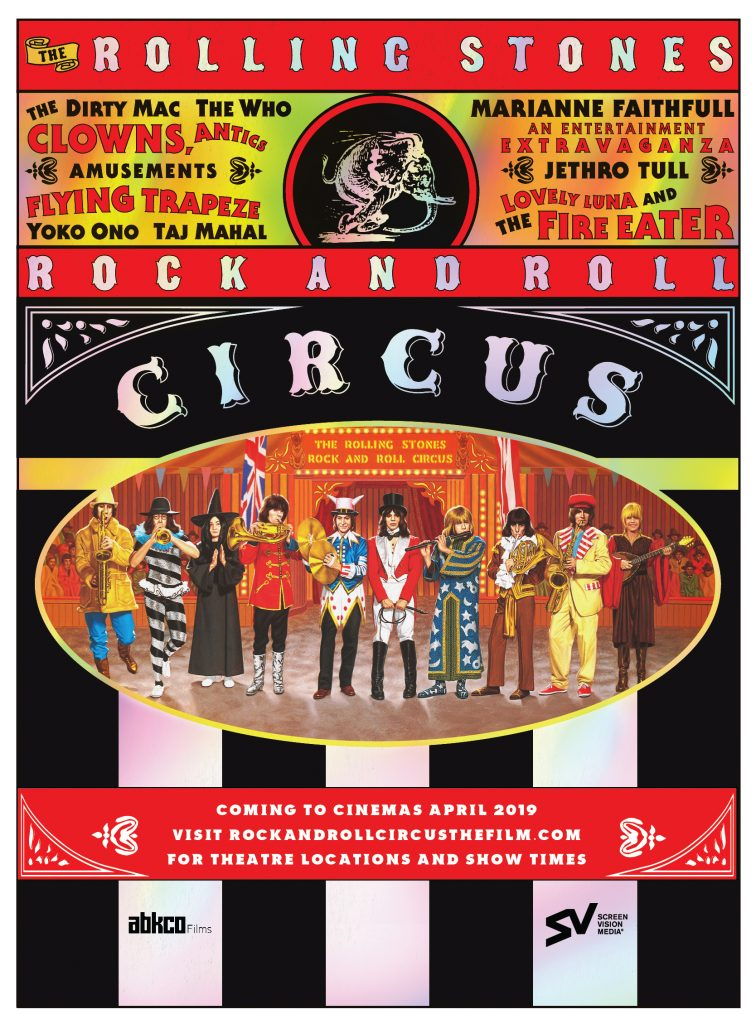 Rolling Stones 'Rock & Roll Circus' in Theaters | Best