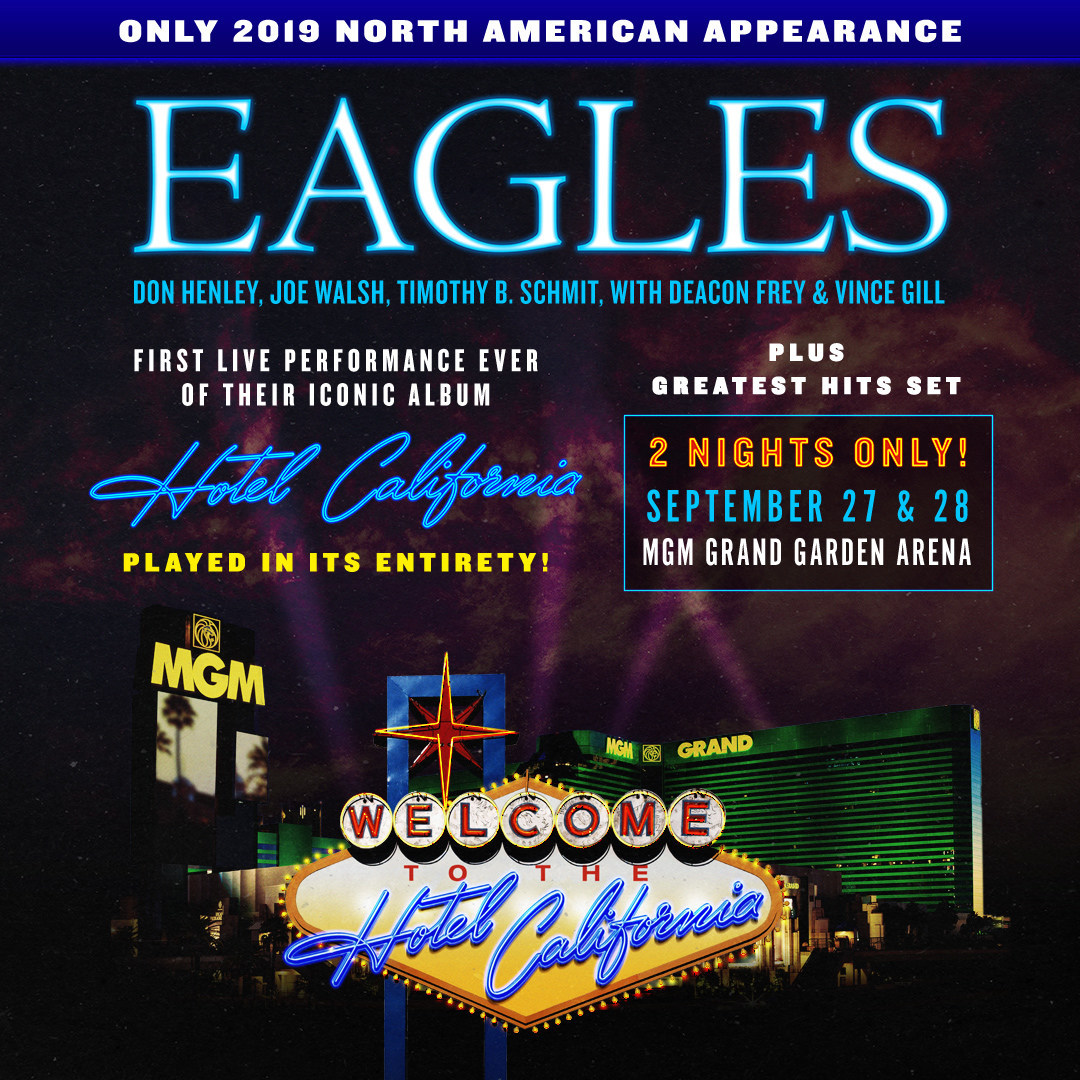 eagles to perform hotel california lp for 1st time best classic bands. Black Bedroom Furniture Sets. Home Design Ideas