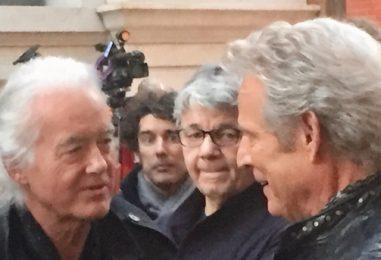 Jimmy Page, Steve Miller Watch Don Felder Perform 'Hotel California'