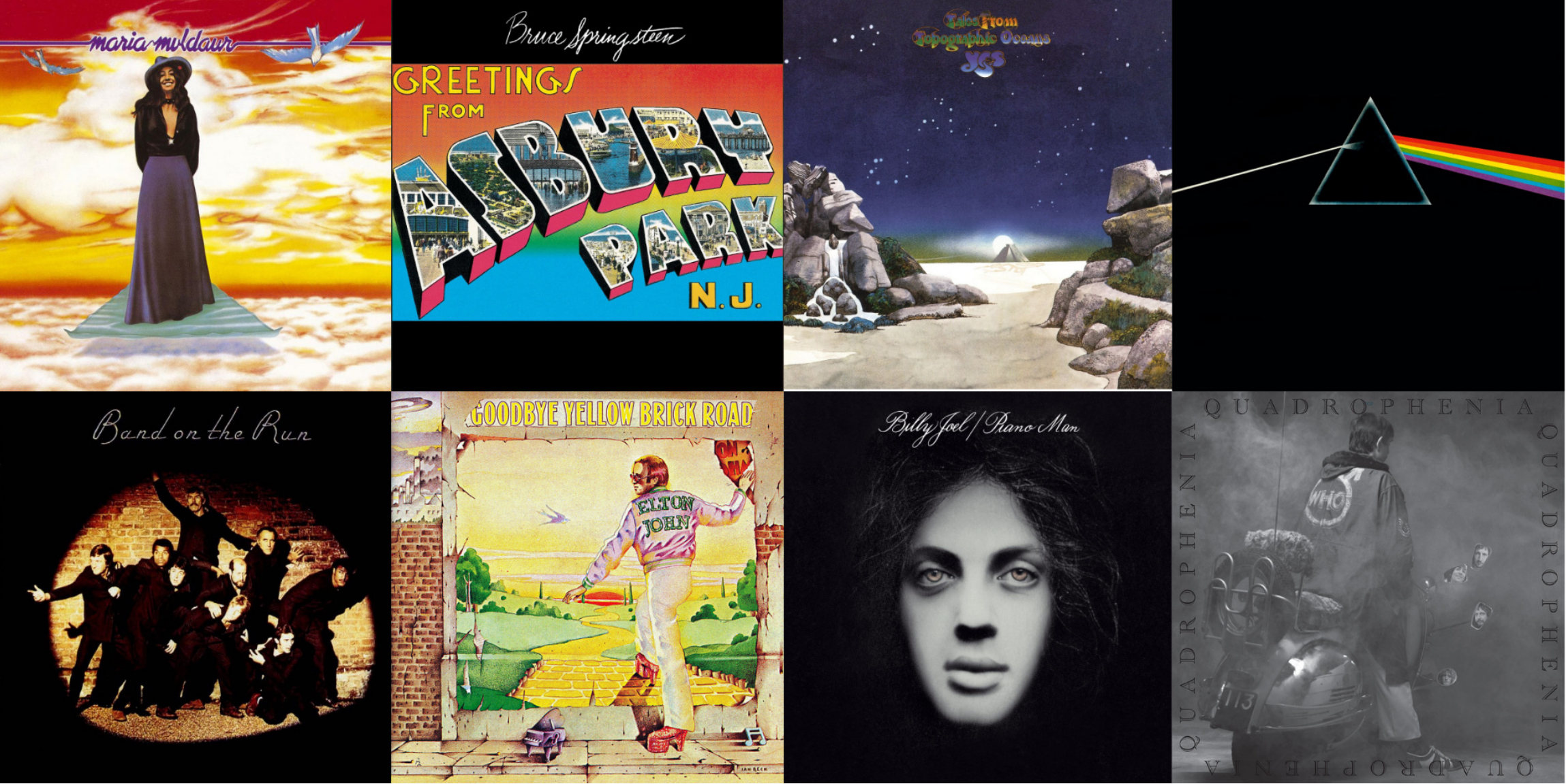 1973: The Year in 50 Classic Rock Albums | Best Classic Bands