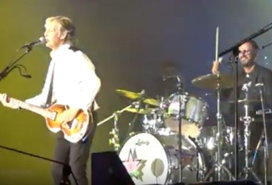 Paul McCartney and Ringo Starr Reunite on Stage