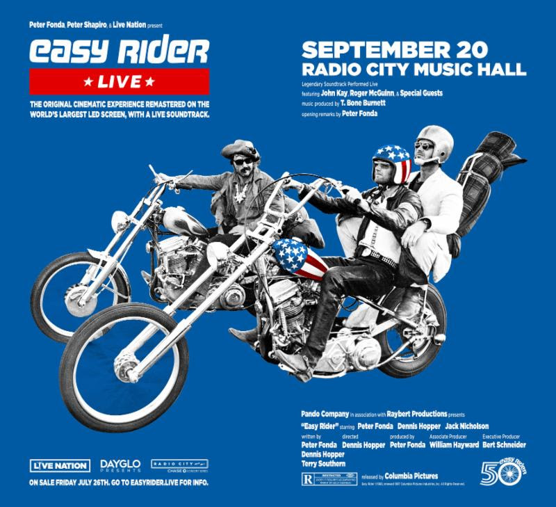 Easy Rider 50th Anniv Event Features Live Soundtrack Best