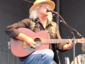 Arlo Guthrie Plays Free Concert at Woodstock Site