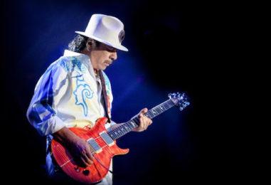 Santana Resets 2021, 2022 Tour Calendar