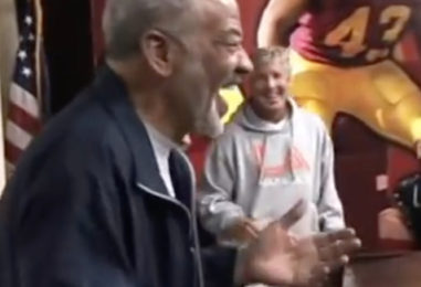 When Bill Withers 'Punk'd' the USC Trojans Football Team