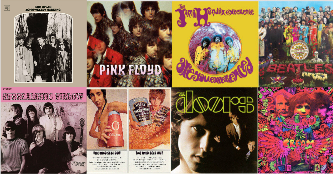 1967 in Rock Music: One Amazing Year   Best Classic Bands