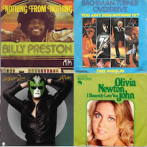 The 44 (Count 'em!) #1 Singles of 1974