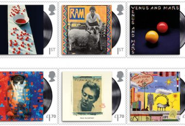 Britain's Royal Mail to Issue Paul McCartney Stamps Series